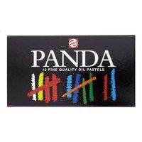 Talens vetkrijtje Panda - 12 stuks