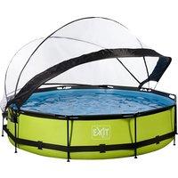 EXIT zwembad Lime met overkapping Ø 3