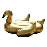 Sunvibes Opblaasbare zetel Gold Zwaan goud