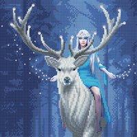 Craft Buddy Crystal Art Kit Anna Stokes - Fantasy Forest