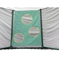 Doeltrainingswand voor trampoline