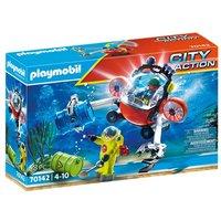 PLAYMOBIL City Action 70142 Redding op zee: omgevingsmissie met duikboot